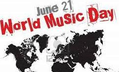 World Music Day - 21 June  IMAGES, GIF, ANIMATED GIF, WALLPAPER, STICKER FOR WHATSAPP & FACEBOOK