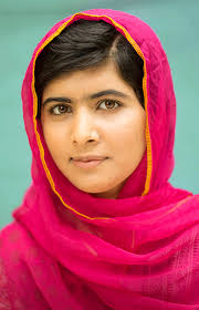 Malala pleads 'invest in Books, not Bullets'.