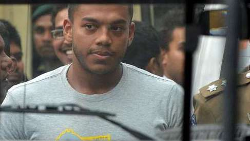 Sri Lanka's ex-president's son arrested for graft
