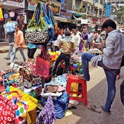 Power thrashing street vendors?