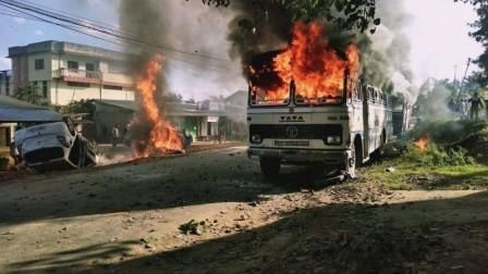 Manipur: 'If you celebrate Christmas, we'll burn down your Church'