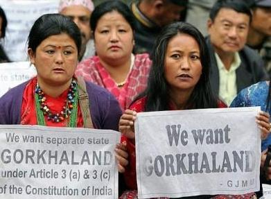 GJM mischief disguised as Gorkhaland Issue?