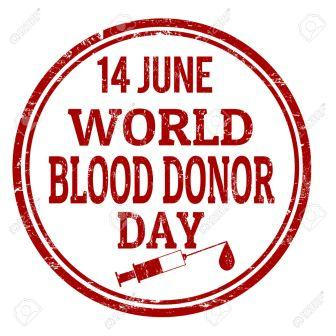 World Blood Donor Day is Today