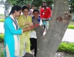 Rakhi for Trees @ Xavier Colleges