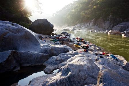 Communities clean up Meghalaya Rivers