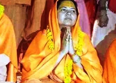 In a first, woman stakes claim to Sakaracharya seat