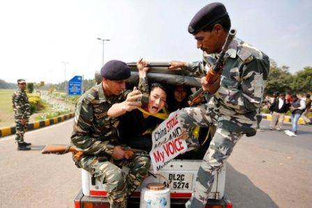 India bans Tibetan protests against China in Capital