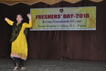 Freshers' Day at Patna Women's College