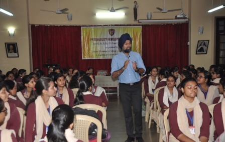 Personality development workshop organised in PWC