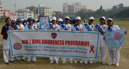 Patna Women's College celebrates International AIDS Day