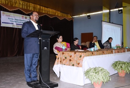 Guest lecture on career opportunity in Development sectors held in PWC