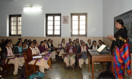 Patna Women's College held a workshop and slogan writing competition to mark the importance of Human Rights Day