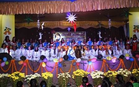 Christmas celebrations at Patna Women's College