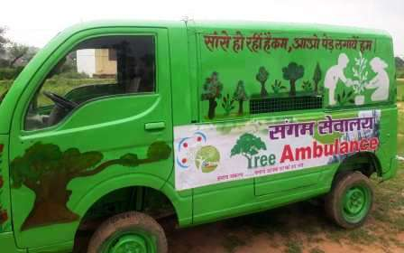 Tree Ambulance spreads message to go green: World Environment Day