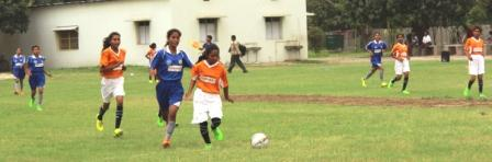Bihar girls kick football for EQUALITY GOAL